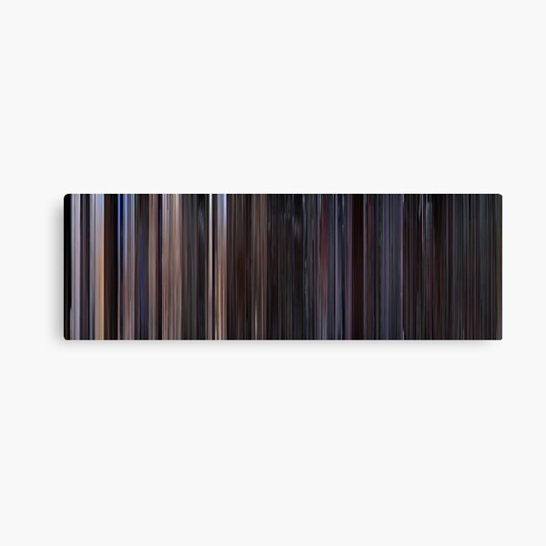 Moviebarcode: Star Wars: Episode IV - A New Hope (1977) Canvas Print