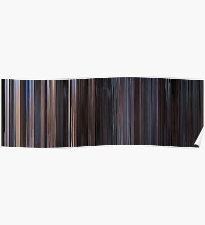 Moviebarcode: Star Wars: Episode IV - A New Hope (1977) Poster