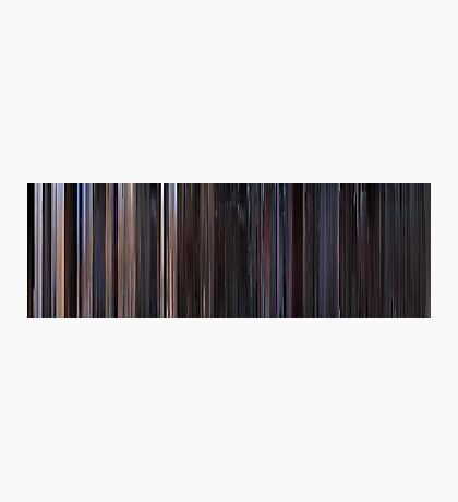 Moviebarcode: Star Wars: Episode IV - A New Hope (1977) Photographic Print
