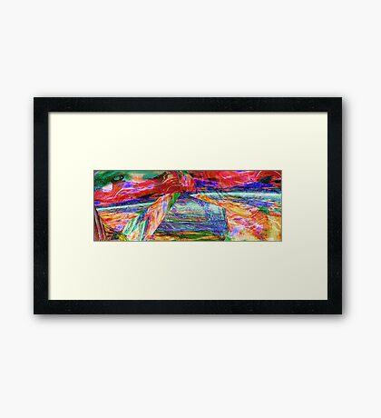 True Colours Framed Print
