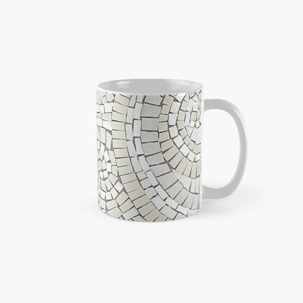 To the Heart of It Mosaic by Sue Kershaw Classic Mug