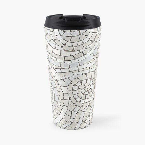 To the Heart of It Mosaic by Sue Kershaw Travel Mug
