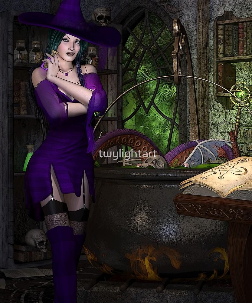 Cauldron Bubble by twylightart