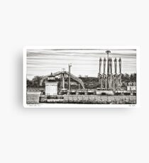 Bug Light Canvas Print
