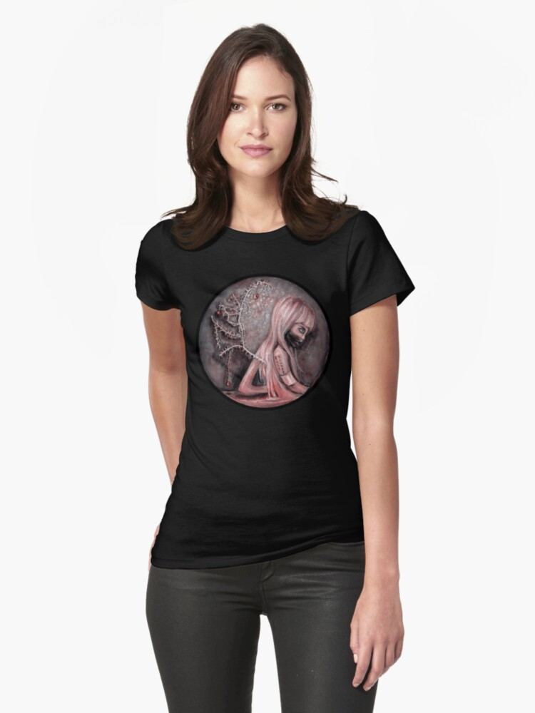 Christmas Parasomnia Womens T-Shirt Front