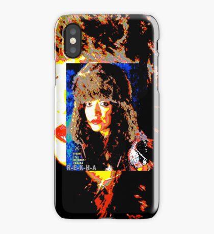 REKHA ROCK IT FAUX FUR iPhone Case