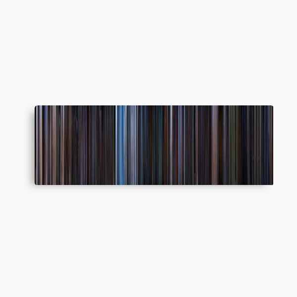 Moviebarcode: Star Wars: Original Trilogy (1977-1983) Canvas Print