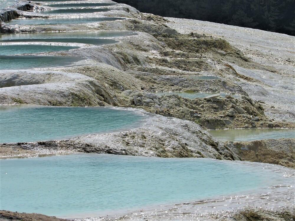 Limestone Pools of Akkaya by tomeoftrovius
