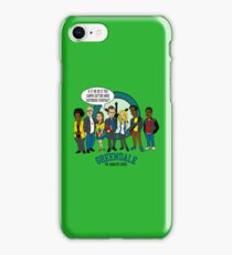 Greendale the Animated Series iPhone Case/Skin