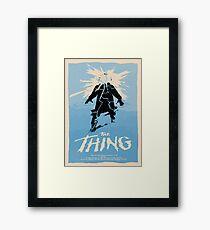 The Thing (1982) Custom Poster Framed Print