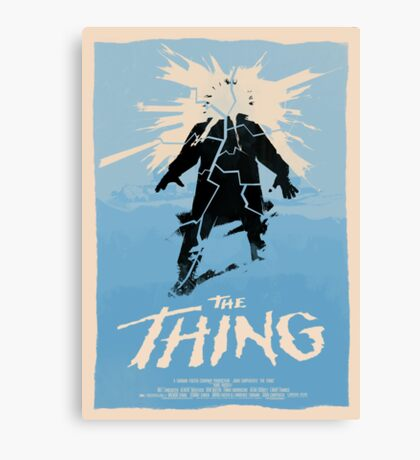 The Thing (1982) Custom Poster Canvas Print