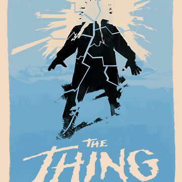 The Thing (1982) Custom Poster by Rusty100
