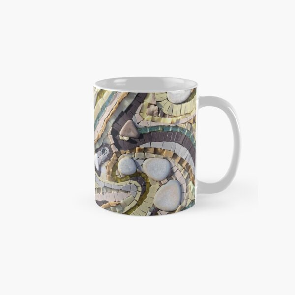 Shifting Sands Mosaic by Sue Kershaw Classic Mug