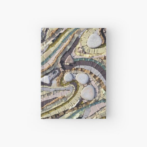 Shifting Sands Mosaic by Sue Kershaw Hardcover Journal