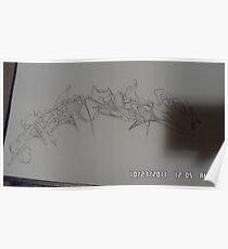 pencil sketch Poster