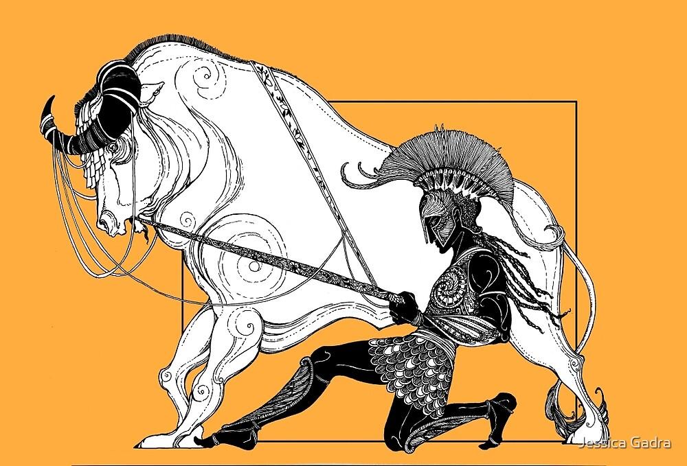 Jason and the Bull by Jessica Gadra