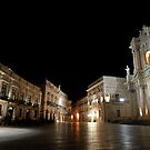 Ortigia at midnight by Peppedam