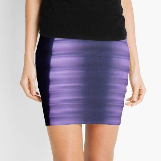 Shades of Purple Mini Skirt