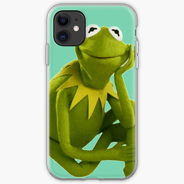 Kermit the Frog iPhone Soft Case