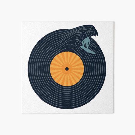 Ride the Music  Art Board Print