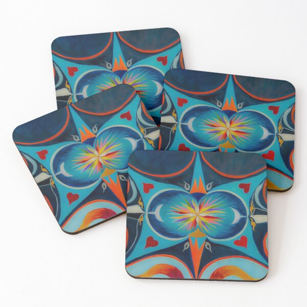 The Jewel Coasters (Set of 4)