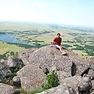 on top of Mt Scott in southwest Oklahoma by SusieG