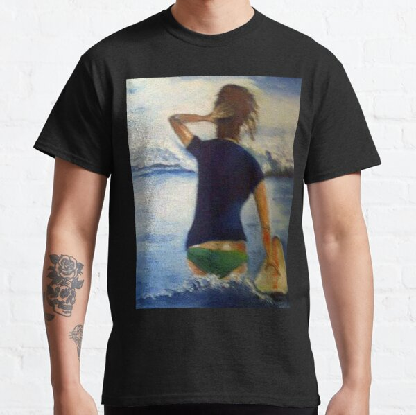 FUN LOVING,LAID-BACK,SANDY-HAIRED SURFER Classic T-Shirt