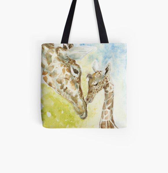 Girafe Tote bag doublé