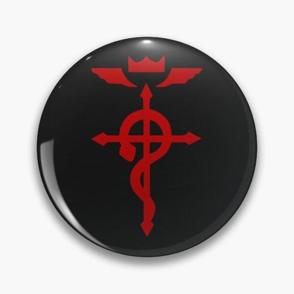 Flamel Cross- Fullmetal alchemist Pin