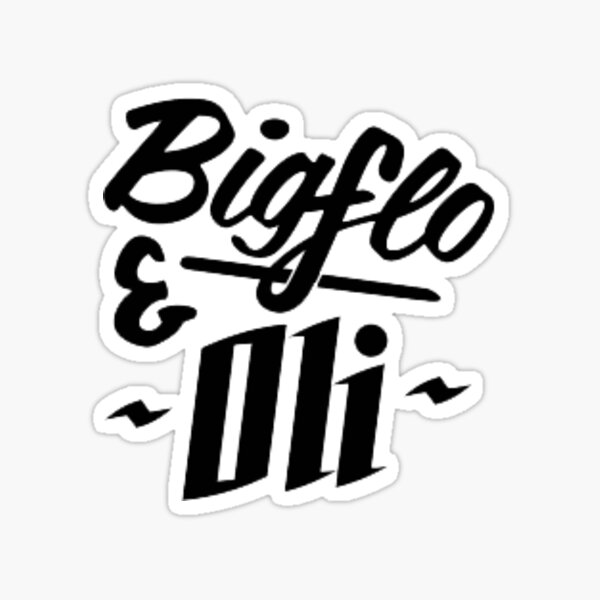 Autocollant Bigflo et Oli Sticker