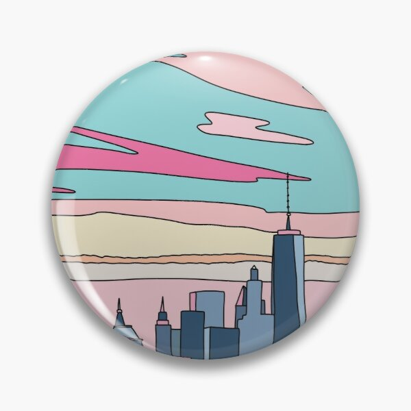City sunset by Elebea Pin