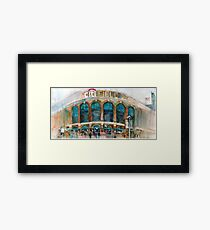 CitiField - Mets Watercolor Print Framed Print