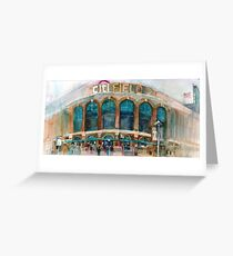 CitiField - Mets Watercolor Print Greeting Card