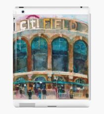 CitiField - Mets Watercolor Print iPad Case/Skin