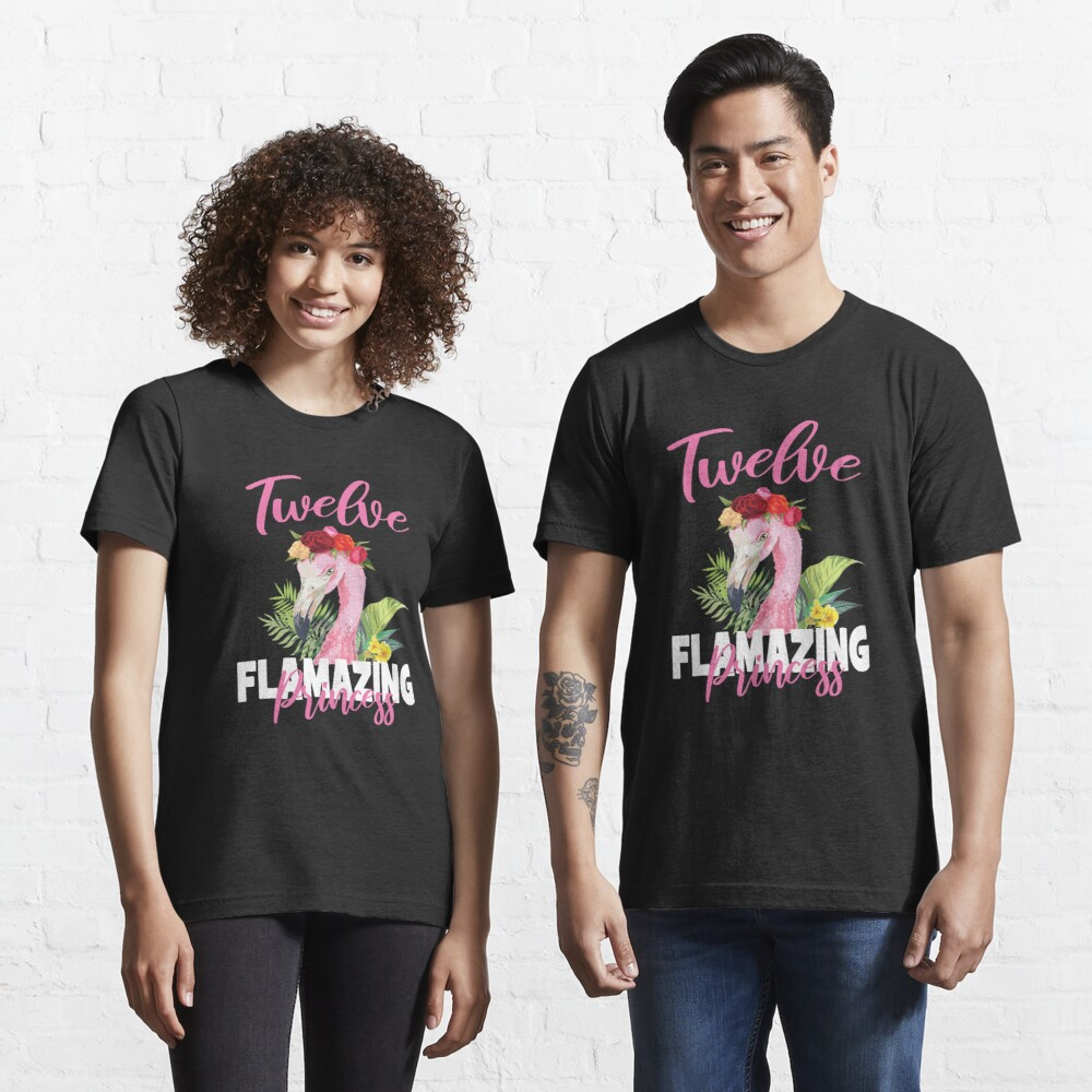 Gift Faux Gold Kids Cute Daughter Tank Women Girls 12th Birthday Girl Shirt 12 Twelve School Hashtag Party Slim Fit