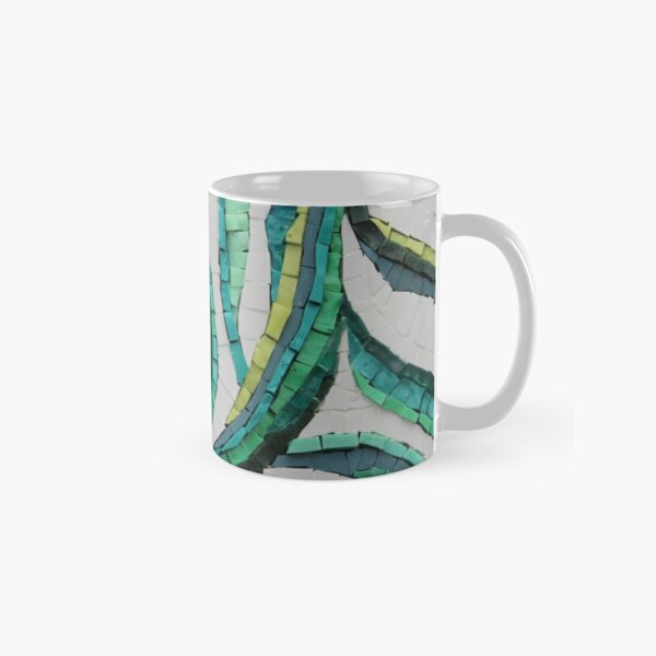 Entwined Mosaic by Sue Kershaw Classic Mug