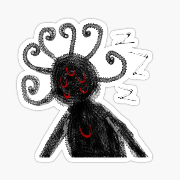 Sleeping Demon  Sticker