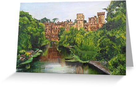 Warwick Castle, Warwickshire, England. by Woodbine252