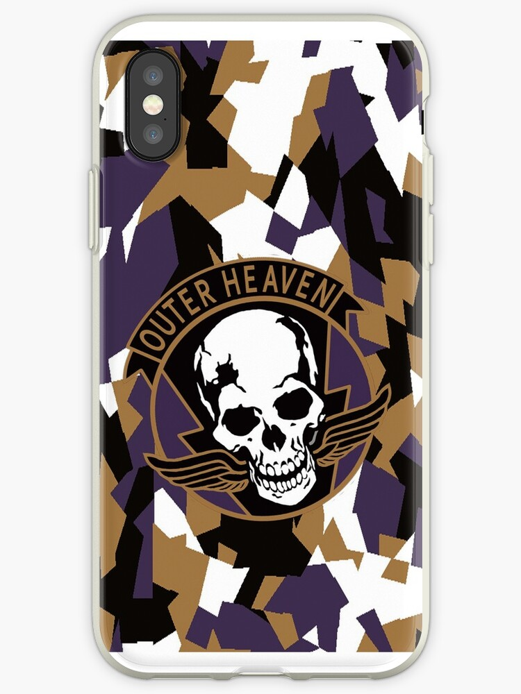 Outer Heaven Phone Case - Show your Support for OUTER HEAVEN! by ZanzibarLand