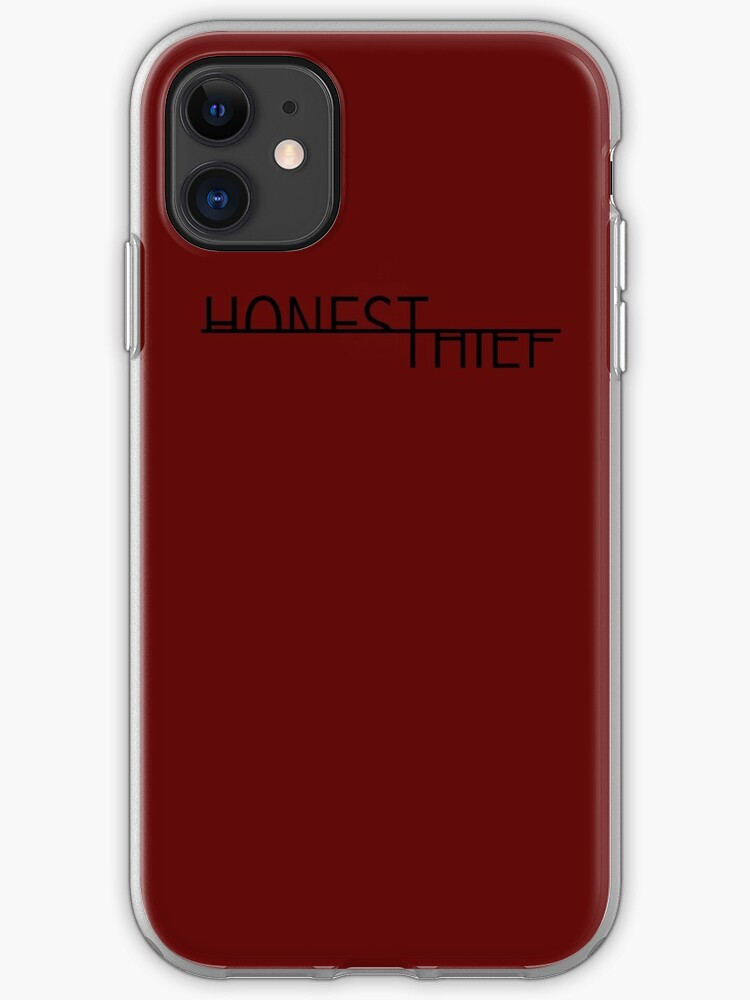 Honest Thief Black Iphone Case Cover By Goondog47 Redbubble