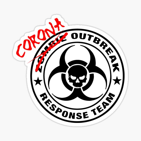Corona Outbreak Response Team Sticker
