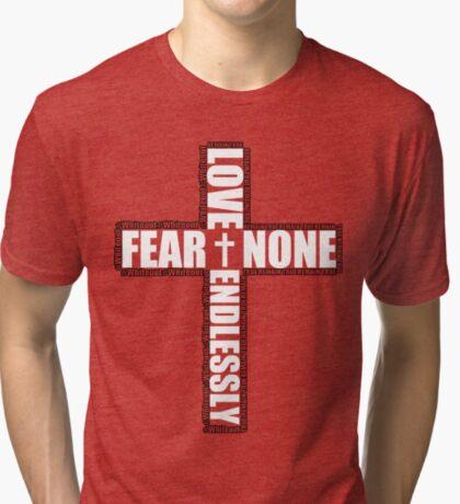 #Whiteout: Love Endlessly (Inverse) Tri-blend T-Shirt