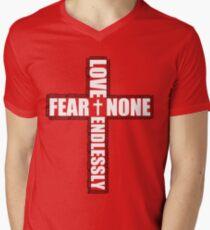 #Whiteout: Love Endlessly (Inverse) Men's V-Neck T-Shirt