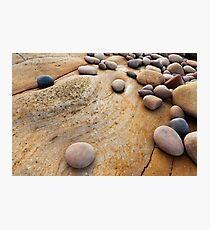 Hopeman Stones Photographic Print