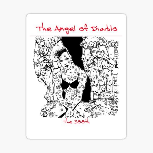 Angel of Diablo Sticker