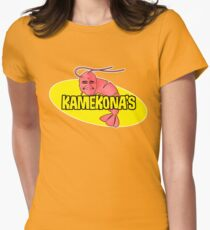 Kamekona's Shrimp Women's Fitted T-Shirt