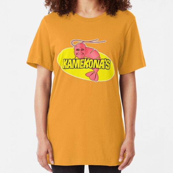 Kamekona's Shrimp Slim Fit T-Shirt