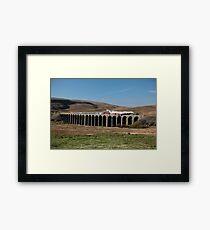 Tornado Crosses Ribblehead Viaduct Framed Print