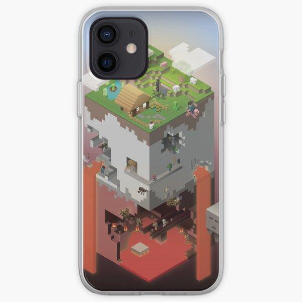 World of Blocks iPhone Soft Case