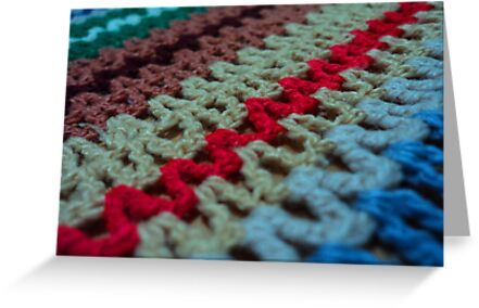 knitted though the bed of deep emotion... by mariatheresa
